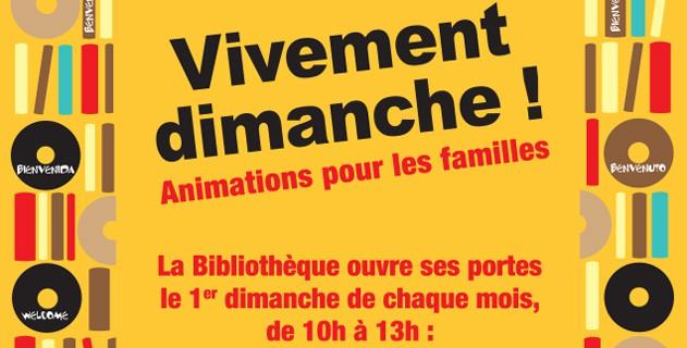 7414d0faebc92c La bibliothèque municipale ouvre ses portes les dimanches 7 janvier, 4  février et 4 mars