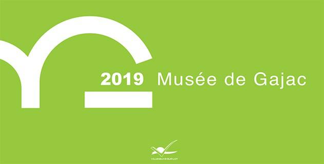 Le Musée de Gajac vient de dévoiler son programme pour l année 2019.  Expositions 54a6a20c4ce