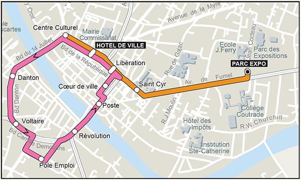 Bastide Express, les navettes gratuites de Villeneuve-sur-Lot