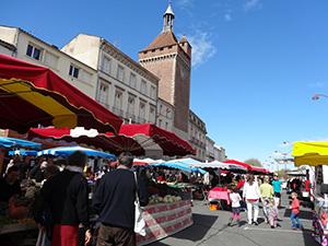 Les marchés à Villeneuve-sur-Lot