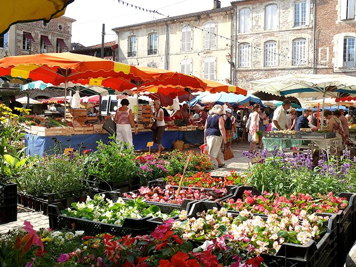 Les marchés de Villeneuve-sur-Lot