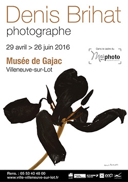 Denis Brihat, photographe - exposition à Villeneuve-sur-Lot