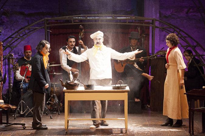 LE CABARET BLANCHE au théâtre Georges Leygues de Villeneuve-sur-Lot le 8 avril 2017