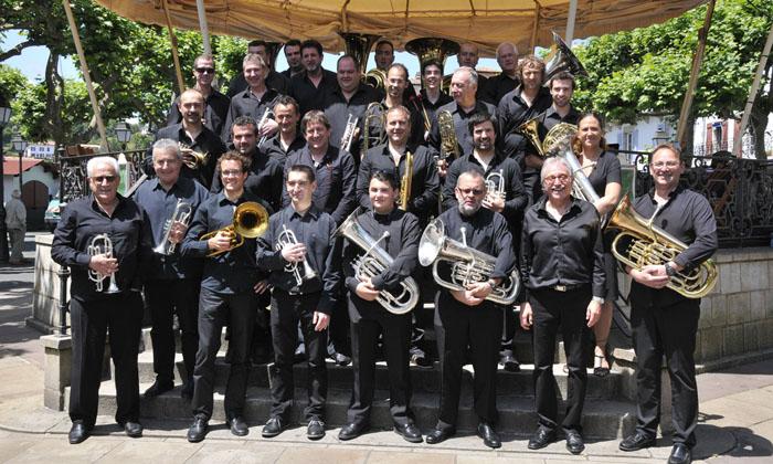 CONCERT  DU NOUVEL AN Avec lÂ'Euskal Brass Band, lÂ'OMH-Vents dÂ'Òlt  et la batterie fanfare des Jeunes Villeneuvois