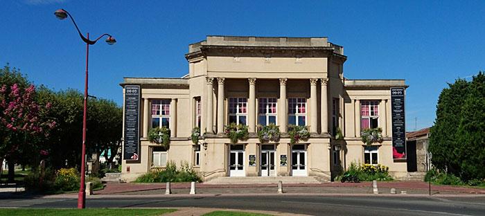 Le Théâtre G. Leygues à Villeneuve-sur-Lot