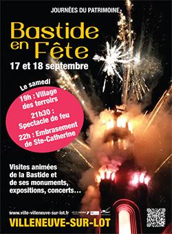 Bastide en Fête : les journées du Patrimoine à Villeneuve sur Lot
