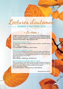 Lectures d'automnes