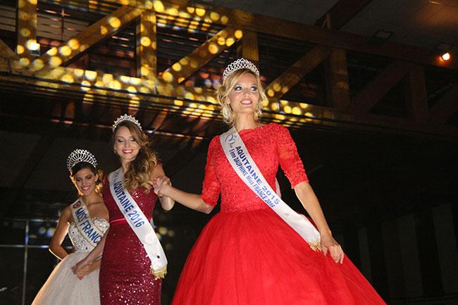 Axelle Bonnemaison, Miss Lot-et-Garonne a été sacrée Miss Aquitaine 2016