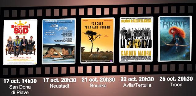 Cinéma et jumelages octobre 2016 Villeneuve-sur-Lot