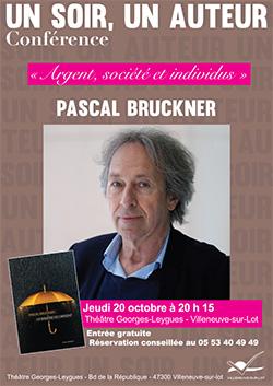 Pascal Bruckner à Villeneuve-sur-Lot le 20 octobre 2016