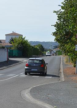 Avenue Jean-Claude Cayrel à Villeneuve-sur-Lot: nouvelle phase d'aménagement