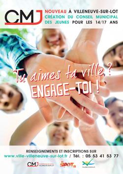 Le Conseil Municipal des Jeunes de Villeneuve-sur-Lot