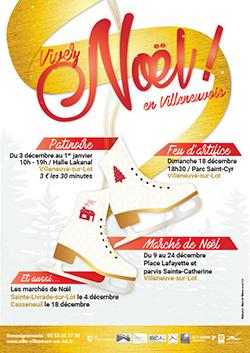 Joyeuses fêtes à Villeneuve-sur-Lot !