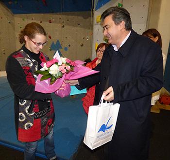 Lucie Jarrige et Patrick Cassany
