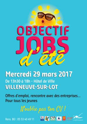 Jobs d'été à Vileneuve-sur-Lot