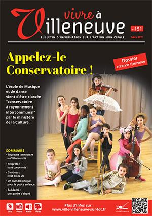Vivre à Villeneuve n° 151 - mars 2017