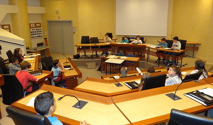 Conseil municipal des enfants de Villeneuve-sur-Lot - 21 mars 2017
