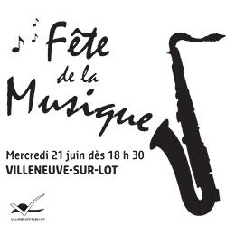 Fête de la musique à Vileneuve-sur-Lot