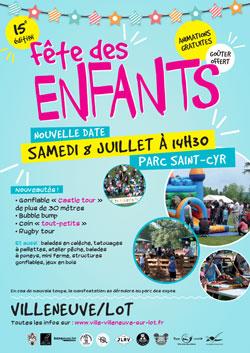 Fête des enfants 2017 à Villeneuve-sur-Lot