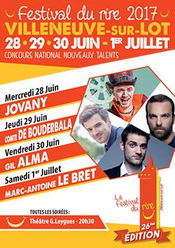 Festival du Rire de Villeneuve-sur-Lot