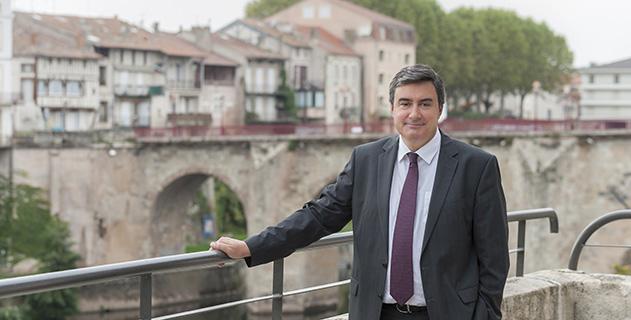 Patrick Cannany maire de Villeneuve-sur-Lot