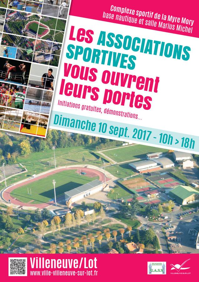 Portes ouvertes des associations sportives de Villenuve-sur-Lot