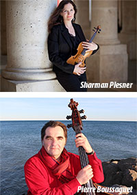 "Concert Crossover : Pierre Boussaguet  et Sharman Plesner ""Meeting Point"""