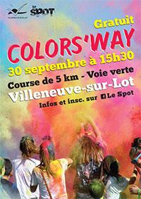 COLOR'S WAY Samedi 30 septembre 2017 à Villeneuve