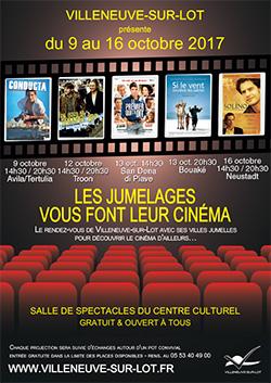 Cinéma et jumelages à Villeneuve-sur-Lot