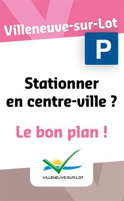 Stationnement à Villeneuve-sur-Lot