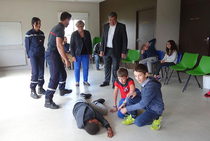 formation aux premiers secours dans les écoles de Villeneuve sur Lot