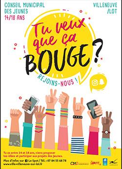 Le conseil miunicipal des jeunes de Villeneuve-sur-Lot