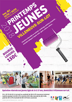 Printemps jeunes 2018 à Villeneuve-sur-Lot