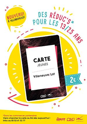 La Carte Jeunes de Villeneuve-sur-Lot