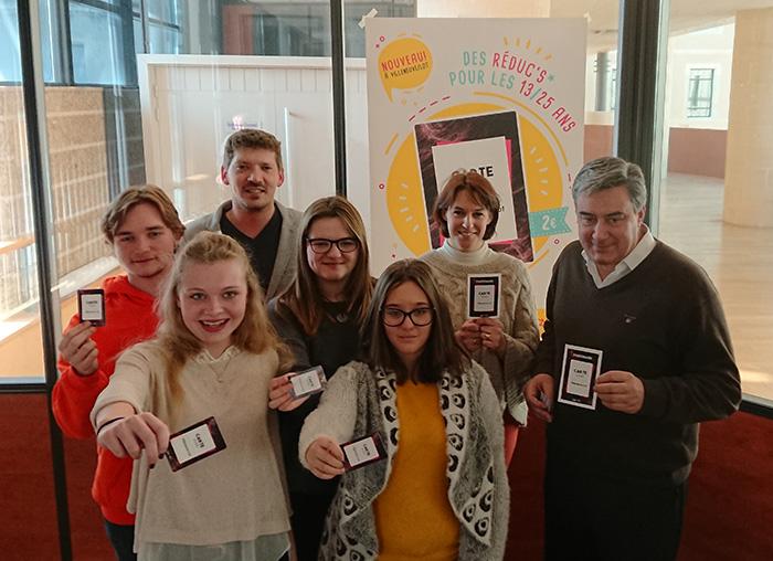Le Conseil municipal des Jeunes de Villeneuve-sur-Lot présente sa Carte Jeunes