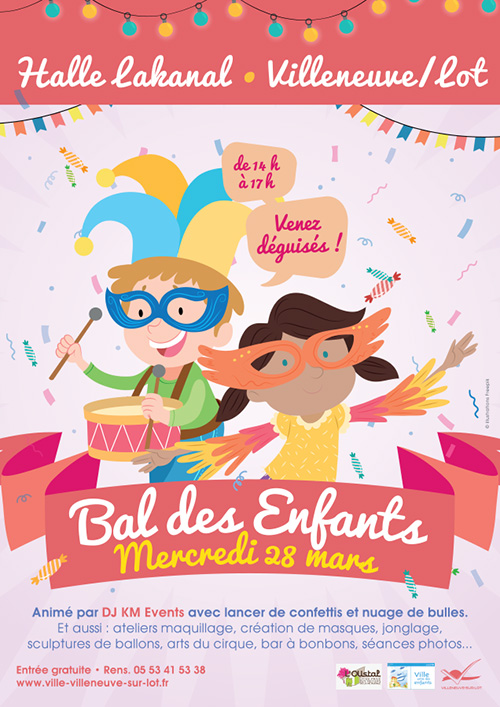 Bal des enfants à Villeneuve-sur-Lot
