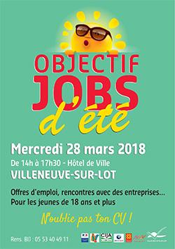 Objectif job d'été à Villeneuve-sur-Lot