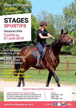 Stages sportifs à Villeneuve-sur-Lot