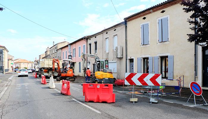 Travaux à Villeneuve-sur-Lot
