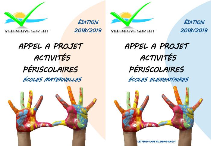 Appels à projets périscolaires Villeneuve sur Lot