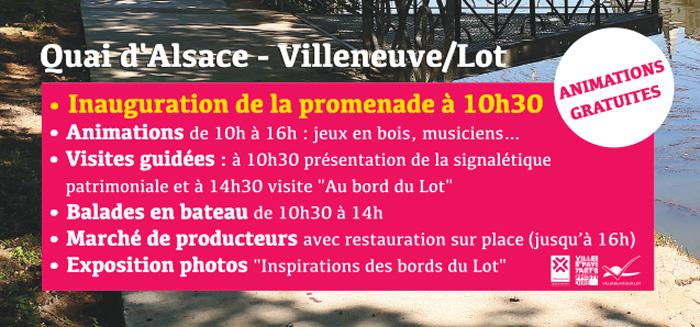 Samedi 22 septembre à Villeneuve