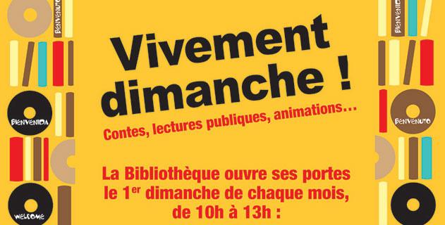 Ouverture le dimanche de la bibliothèque de Villeneuve-sur-Lot