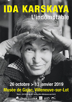 Ida KARSKAYA 1905 - 1990 L'Indomptable - exposition à Villeneuve