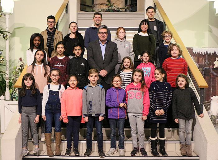 le conseil municipal des enfants de Villeneuve-sur-Lot