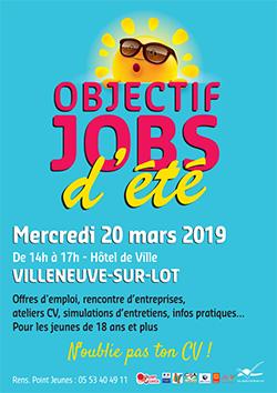 Jobs d'été à Villeneuve