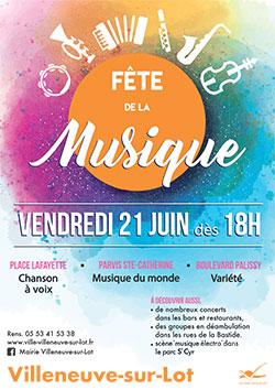 Fête de la Musique 2019 à Villeneuve-sur-Lot