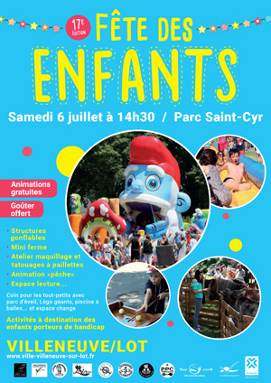 Fête des enfants 2019 à Villeneuve