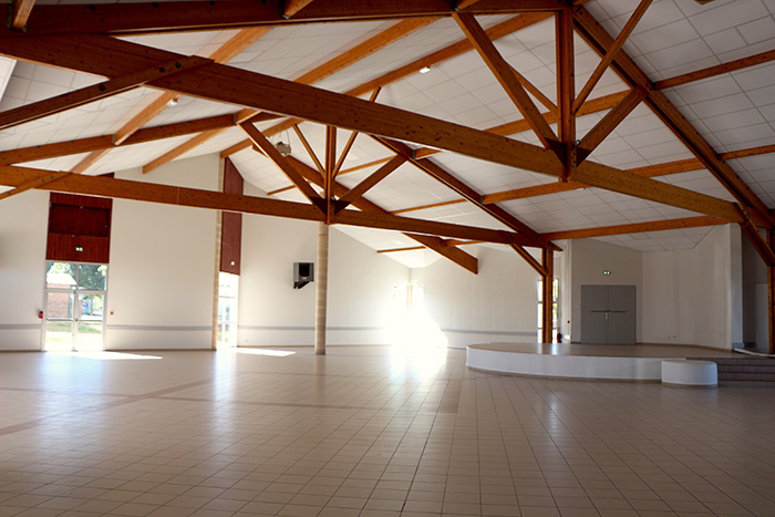 La salle des fêtes de Soubirous à Villeneuve sur Lot