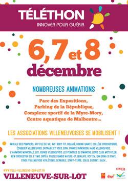 Téléthon 2019 à Villeneuve-sur-Lot