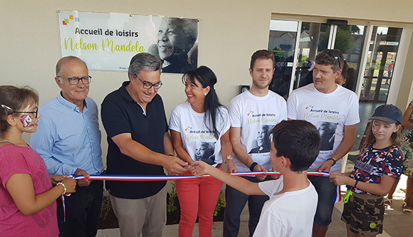 Inauguration de l'ALSH Nelson Mandela à Villeneuve